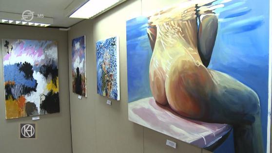 Kiállítás nyílt a GébArt Zalaegerszegi Nemzetközi Művésztelepen készült alkotásokból