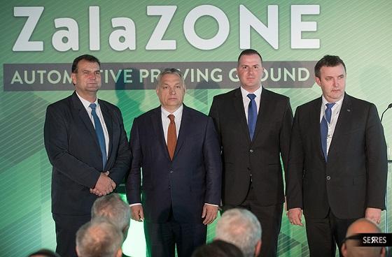 Felavatták a zalaegerszegi ZALA Zone Járműipari Tesztpálya első ütemét