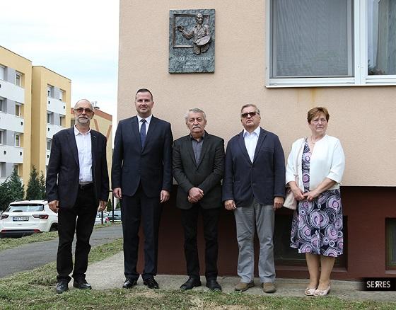 Felavatták Göcseji Pataki Ferenc emléktábláját